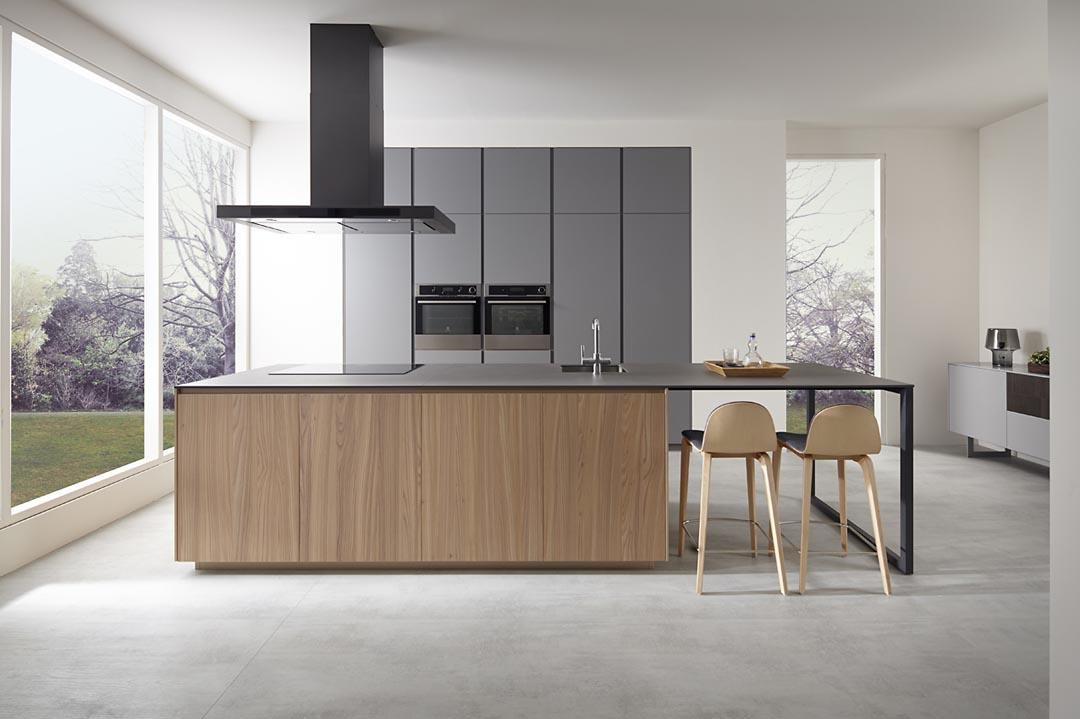 Mueble de cocina Dica modelo Gris Tormenta