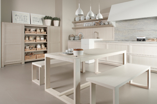 Moble de cuina Dica Arkadia Blanc Nata - Aire Mediterrani