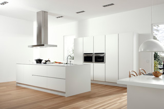 Muebles de cocina Dica serie 45 Blanco polar - Vilanova i la Geltrú