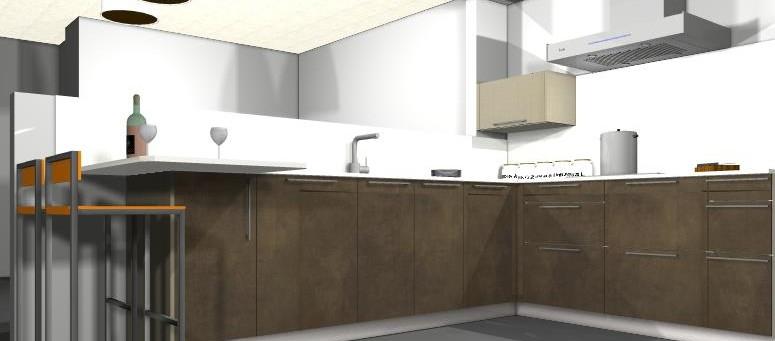 muebles cocina dica cuero viejo y lino en vilanova i la geltr