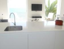 Reforma de Cocina en Sitges color Blanco Mate
