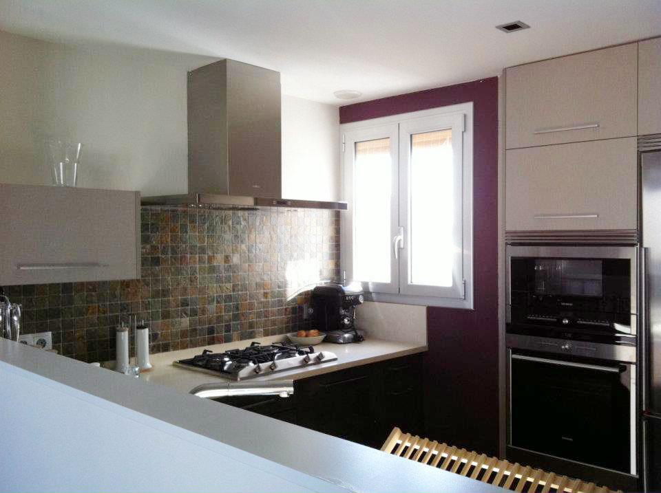 Muebles cocina dica cuero viejo y lino en vilanova i la geltr - Muebles vilanova i la geltru ...