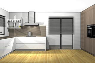 Reforma muebles cocina en l'Arbós