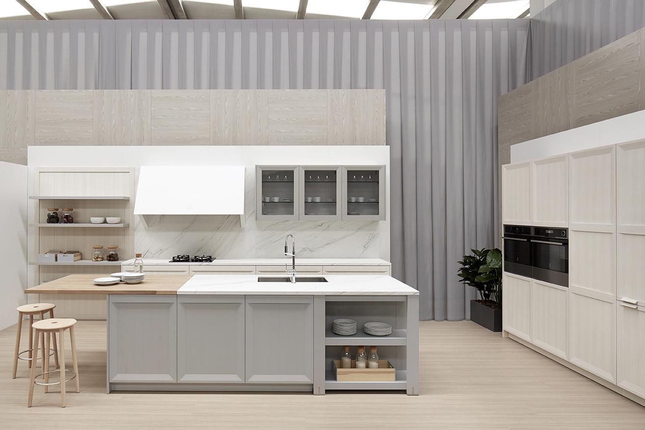 Mueble de cocina dica arkadia blanco natural novelty for Muebles vilanova i la geltru