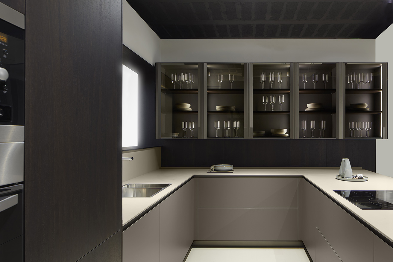 Mueble de cocina Dica Serie 45 Alondra Milano Roble Fumé - Novelty ...