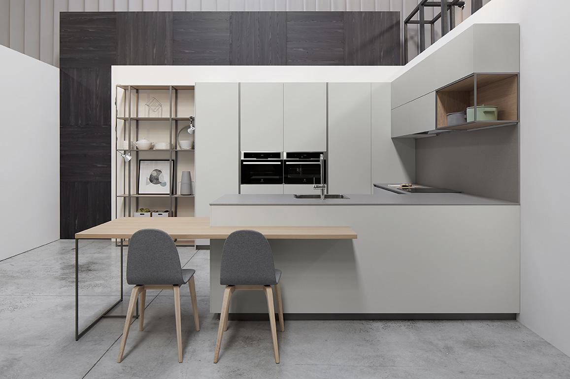 Mueble de cocina Dica Serie 45 gris fenix - Novelty Vilanova i la Geltrú