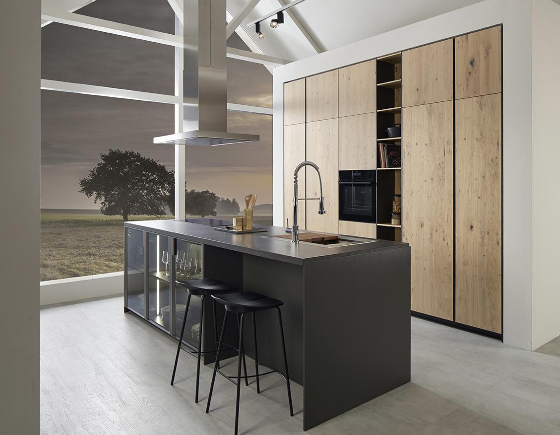 Mueble de cocina Dica Serie 45 roble rústico - Novelty Vilanova i la ...