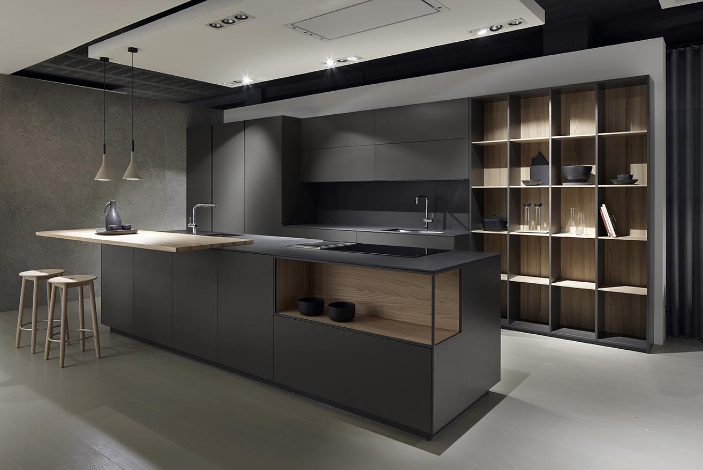 Mueble de cocina Dica Serie 90 gris noche - Novelty Vilanova i la Geltrú