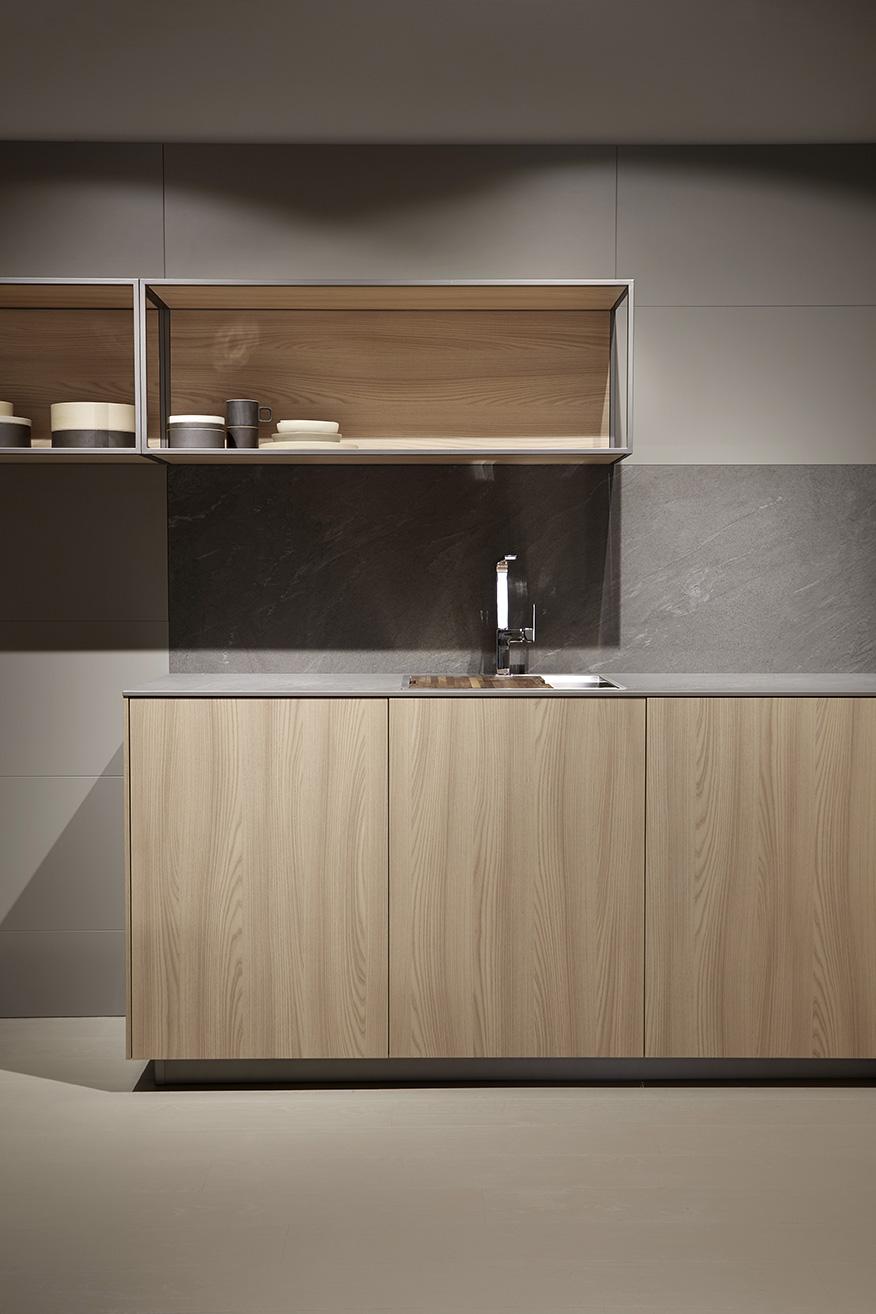 Mueble de cocina dica serie 90 olmo natural milano for Muebles de cocina dica
