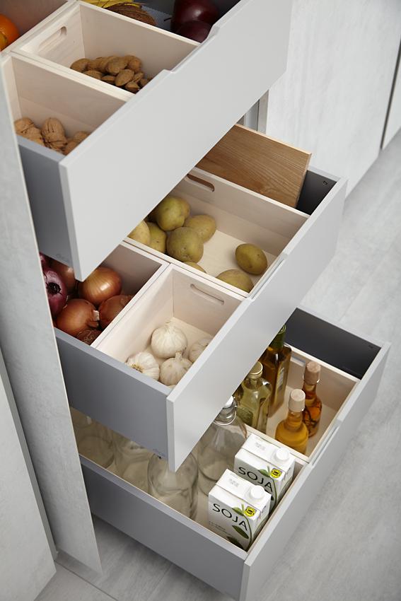 Mueble de cocina dica cemento fresno humo c 03 muebles for Muebles de cocina dica