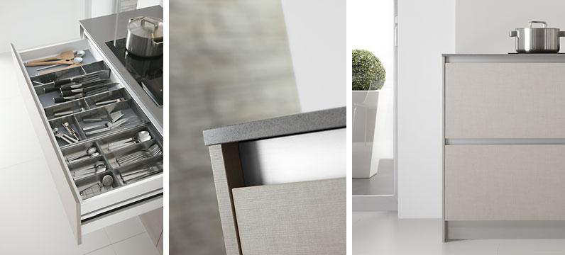 Muebles de cocina cocina lino natural muebles de cocina - Muebles de cocina dica ...