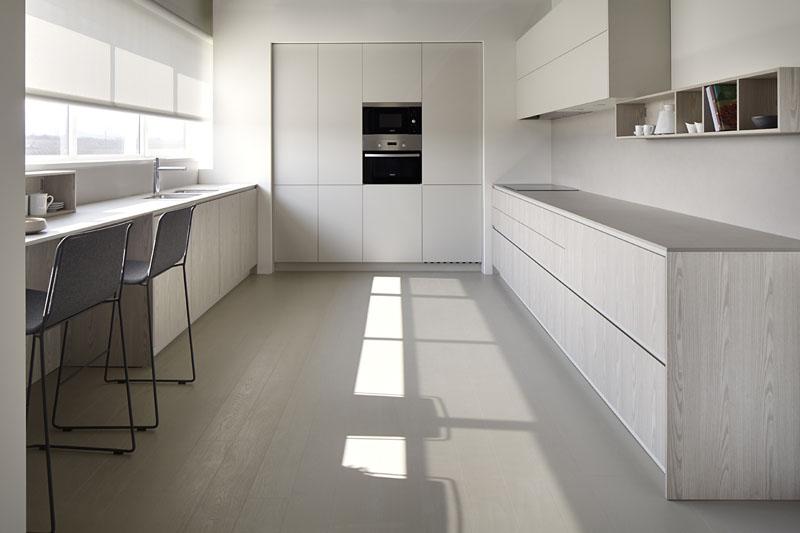 Muebles de Cocina Niebla Seda Freson Vision  Muebles de Cocina