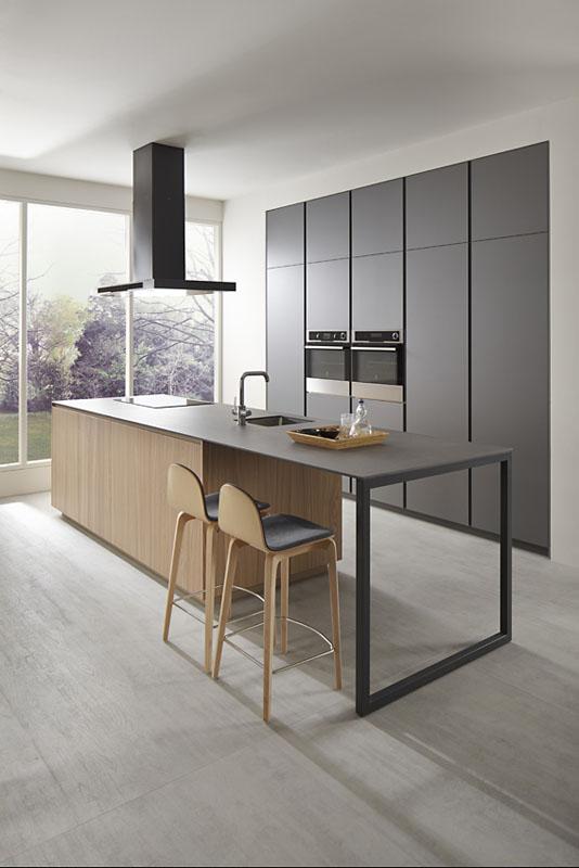 Es muebles de cocina gris tormenta olmo natural for Muebles de cocina dica
