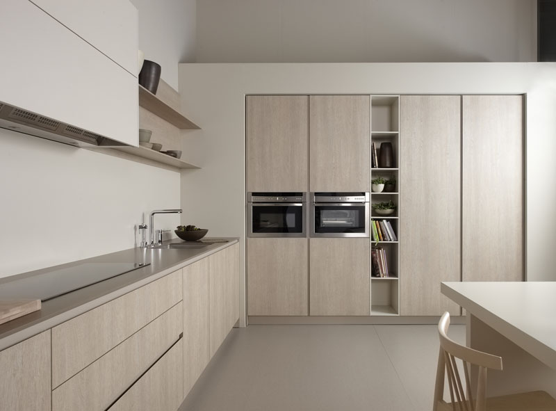 Muebles de cocina roble tempo claro novelty cocinas for Cocinas claras modernas