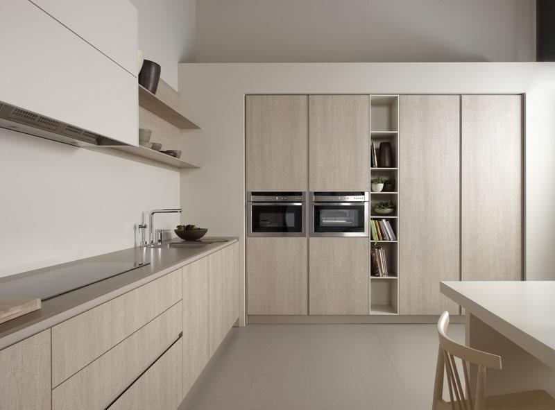 Muebles de cocina roble tempo claro novelty cocinas for Muebles de cocina en l