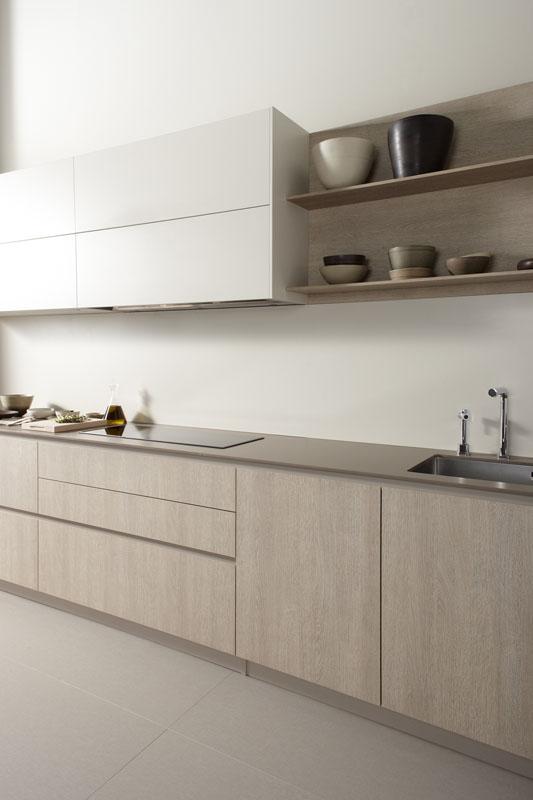 Muebles de Cocina Roble Tempo Claro  Novelty Cocinas