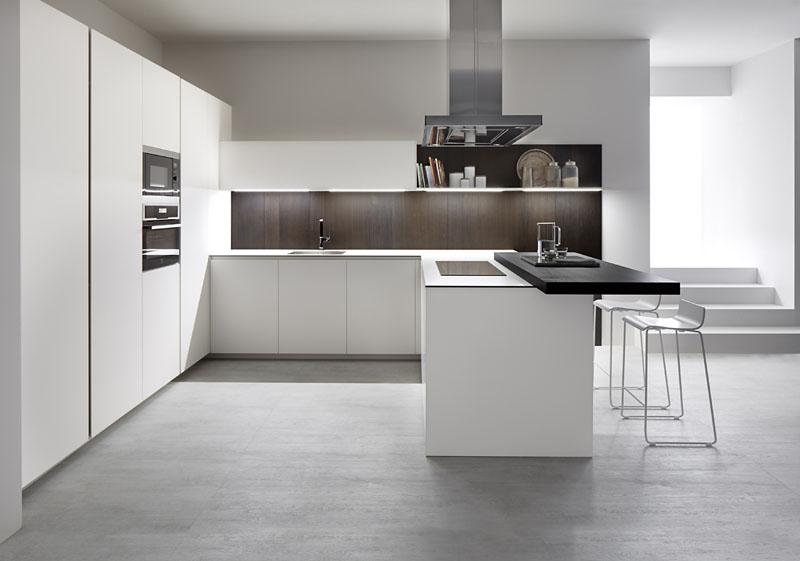 Muebles de cocina en blanco mueble cocina auxiliar blanco for Muebles de cocina fenix