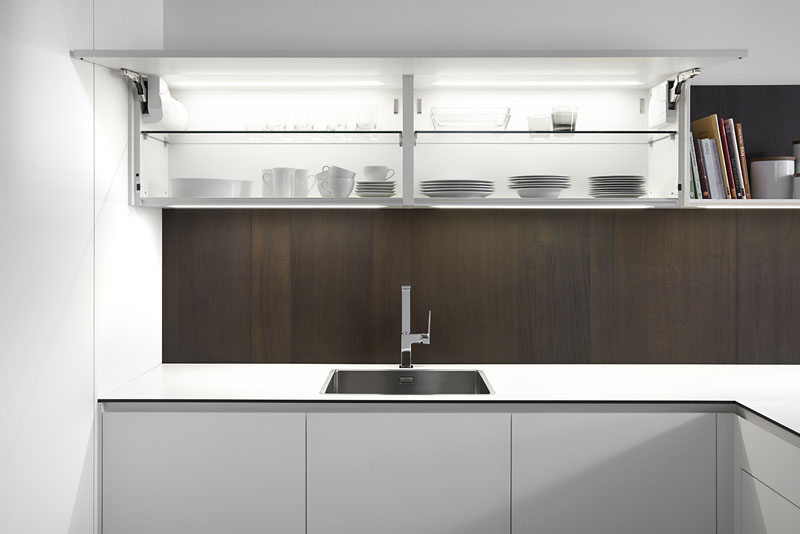 es]Muebles de Cocina Blanco Fenix & Olmo Tabaco[]  Muebles de Cocina