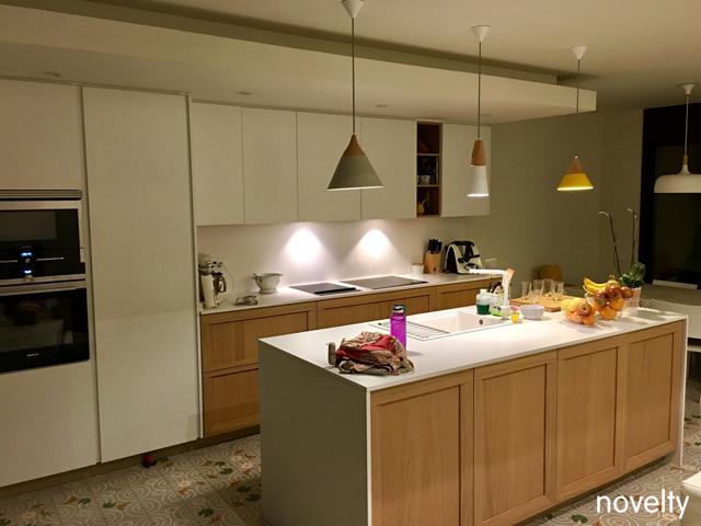 Cocina modelo Dica Soho con isla central