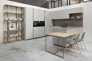 Mueble de cocina Dica Serie 45 - Gris Fenix