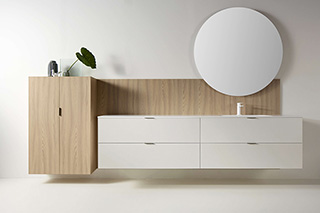 Mueble de Baño Lush Blanco Latte