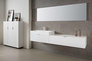Mueble de Baño Lush Blanco Polar