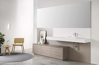 Mueble de Baño Zero Olmo Topo